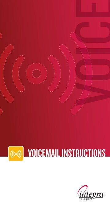 Voice Messaging Reference Guide