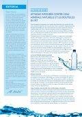Attaque infondée contre l'eau minérale naturelle et les bouteilles en ... - Page 2