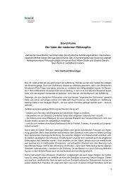 David Hume Der Vater der modernen Philosophie 1 - Fowid