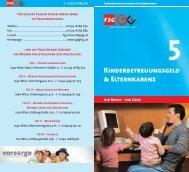Kinderbetreuungsgeld & Elternkarenz - FSG