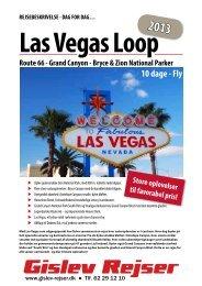 Las Vegas Loop - Gislev Rejser
