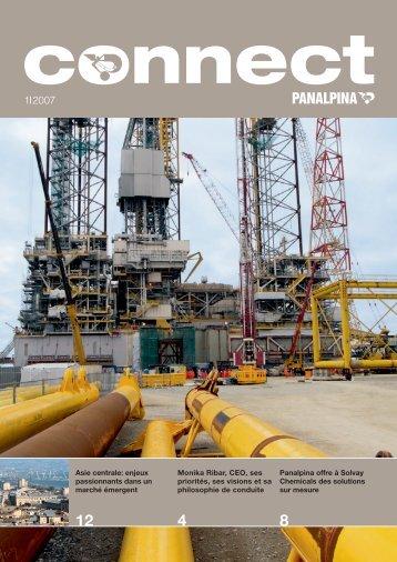 Panalpina offre à Solvay Chemicals des solutions sur mesure Monika