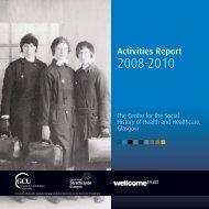 Activities Report - Glasgow Caledonian University