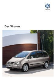 Der Sharan - Tauwald Automobile