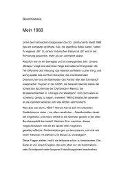 Mein 1968 - Gerd Koenen