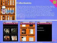 Collectionista - Get Mobile game