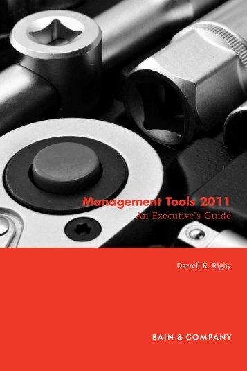 Management Tools 2011 - Bain & Company