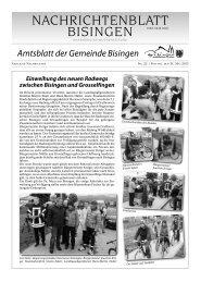 22 Umbruch_Leerumbr.qxd - Gemeinde Bisingen