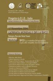 GIORNATA MONDIALE DELLA BPCO - GOLD