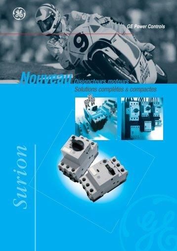 Catalogue Surion - G E Power Controls