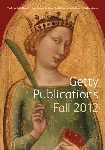 Getty Fall Catalog 2012 - The Getty