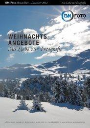Monatsblatt – Dezember 2012 - GM-Foto