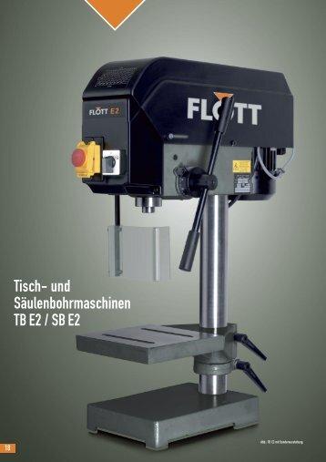 Tisch- und Säulenbohrmaschinen TB E2 / SB E2 - gewema