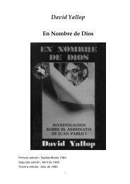 EN NOMBRE DE DIOS MUERTE JUAN PABLO I yallop-david - Gran ...