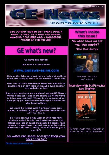 GE NEWS Issue 5 Draft Black corrected.pub