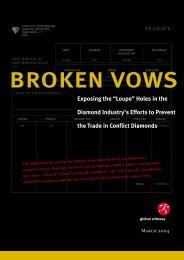 bROKEN VOWS - Global Witness