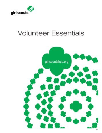 Volunteer Essentials - Girl Scouts Heart Of Central California