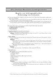 Regeln zur bibliographischen Erfassung von Literatur - Institut für ...