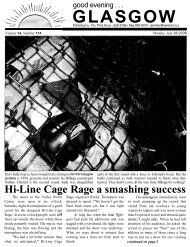 Hi-Line Cage Rage a smashing success - Glasgow Montana