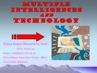 Multiple Intelligences and Technology - NW LINCS