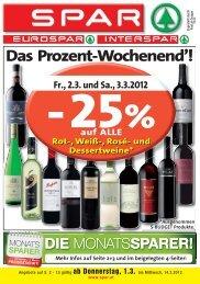 s Prozent-Wochenend'!
