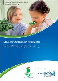 Komm mit in das gesunde Boot - Baden-Württemberg Stiftung