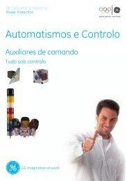 PDF: Auxiliares de comando - G E Power Controls