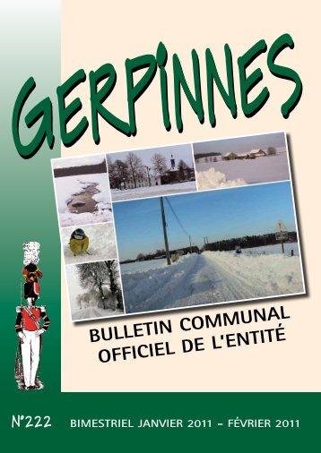 janvier - Gerpinnes