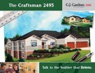 The Craftsman 2495 - G.J. Gardner Homes