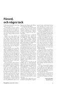 Henrik Persson och Ola Persson, red. - Globalarkivet - Page 3