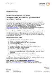 DZTs store undersøkelse om Reiselandet Tyskland - Germany Travel