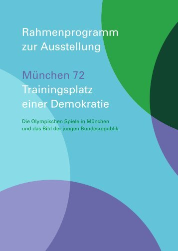 Rahmenprogramm - Nemetschek Stiftung