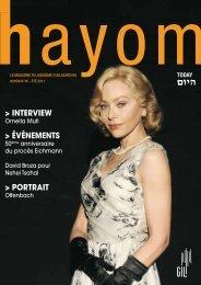 Hayom40 - Communauté Israélite Libérale de Genève