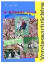 (Sc R\366nnau Mai 2009) - SC Rönnau 74 e.V.