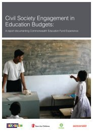 Civil Society Engagement in Education Budgets - Global Partnership ...