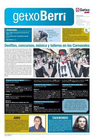 Desfiles, concursos, música y talleres en los Carnavales - Getxo