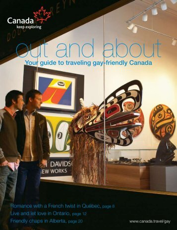 Your guide to traveling gay-friendly Canada - Tourism Online ...