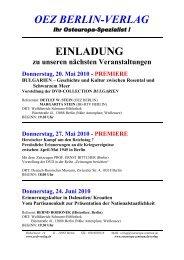 Buchpräsentation herunterladen - Geschichtswerkstatt Europa