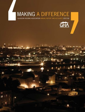 Annual Report 2007/08 - Glasgow Housing Association