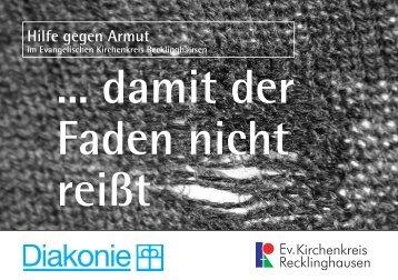 Hilfe gegen Armut - Ev. Kirchenkreis Recklinghausen