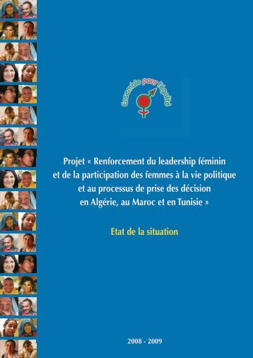 Projet « Renforcement du leadership féminin et de ... - Genre en action