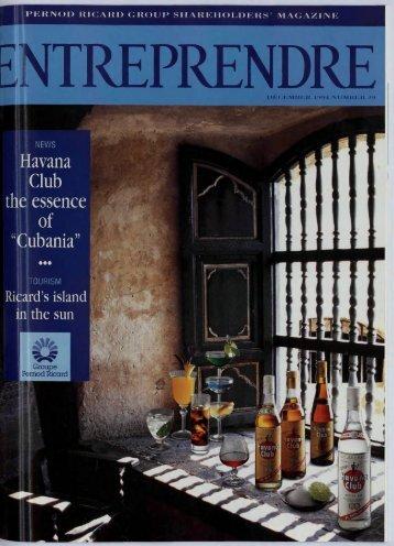 Entreprendre No. 29, December 1994 - Pernod Ricard