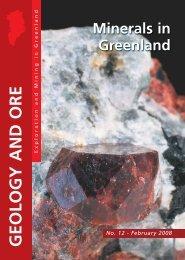 Minerals in Greenland - Geus