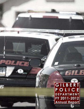 GILBERT POLICE - Town of Gilbert