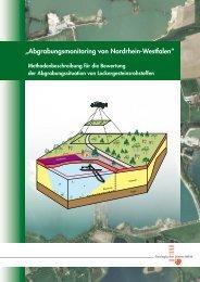 """""""Abgrabungsmonitoring von Nordrhein-Westfalen"""" - Geologischer ..."""