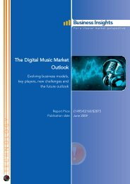 The Digital Music Market Outlook: Evolving ... - Business Insights