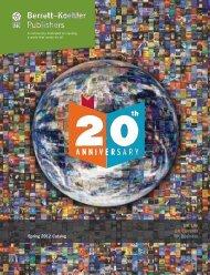 Spring 2012 Catalog - Berrett-Koehler Publishers