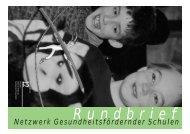Rundbrief 12, deutsch - Gesunde Schulen