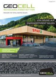 von grund auf energieeffizient bauen - Geocell Schaumglas