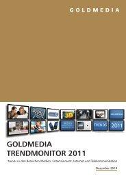 GOLDMEDIA TRENDMONITOR 2011